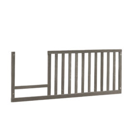 Wooden Toddler Gate in a grey