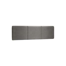 Milano Upholstered Headboard Panel in dark grey