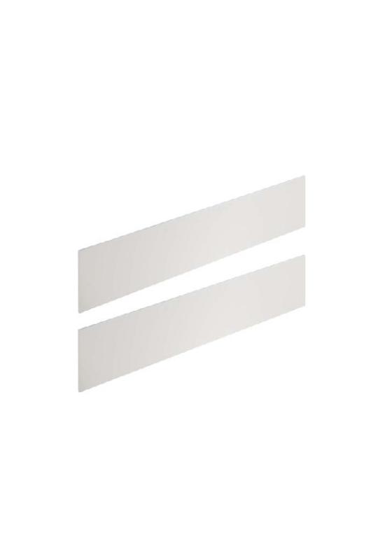 White wooden conversion rails