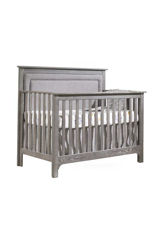 Sensational Emerson 5 In 1 Convertible Crib With Channel Tufted Pdpeps Interior Chair Design Pdpepsorg