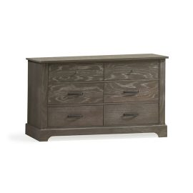 Emerson Dark wooden double dresser
