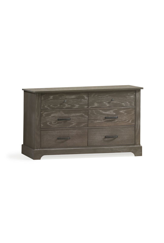Emerson Dark wooden double dresser