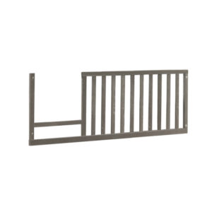 Wooden toddler gate in owl wood