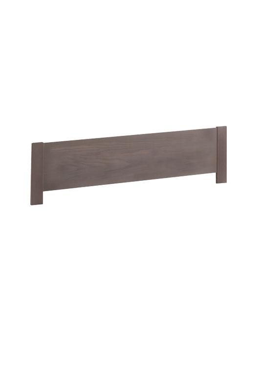 Milano dark wood footboard
