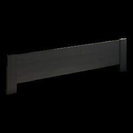 Milano Black wooden Low Profile Footboard
