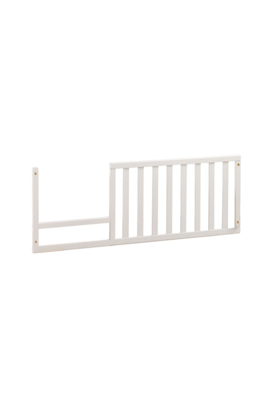 Baby wooden toddler gate in white