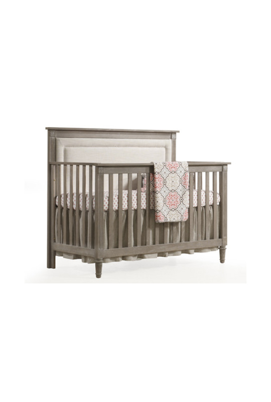 Provence 5 In 1 Convertible Crib With Linen Weave