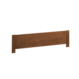 """Brown Wooden Low Profile Footboard 54"""""""