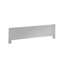 White Low Profile Footboard 54""