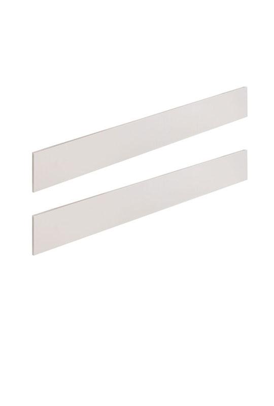 double bed white wooden conversion rails