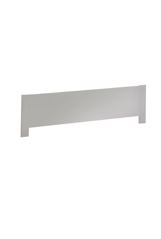 white Low profile footboard