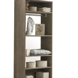 Wooden UnMess Convertible Wardrobe System
