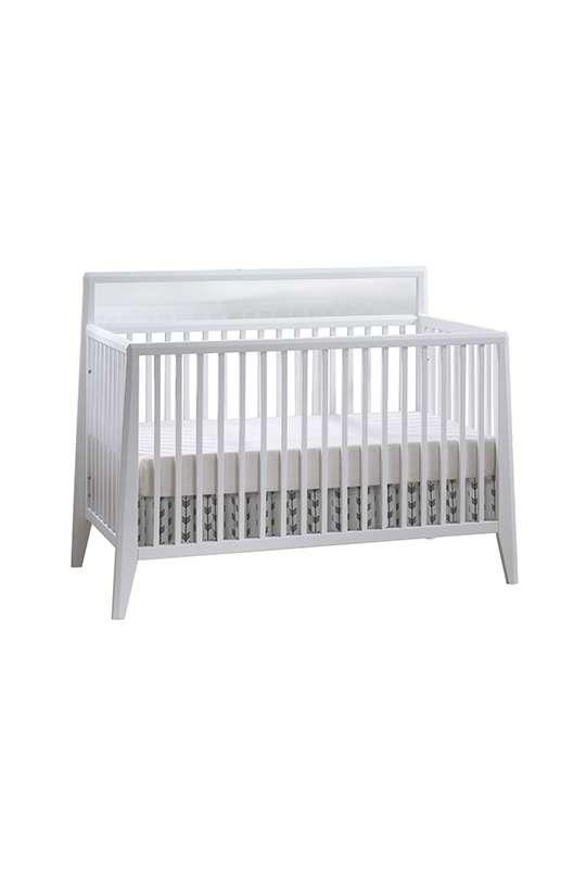 Flexx white classic crib