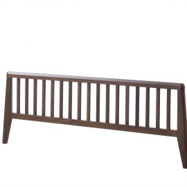 """Rio 39"""" Twin Bed in Walnut and Glossy"""