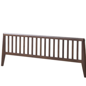 "Rio 39"" footboard in Walnut wood"