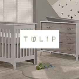 Tulip logo with nursery image