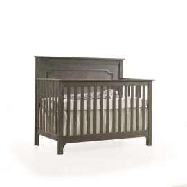 """Emerson """"5-in-1"""" Convertible Crib in Grigio"""