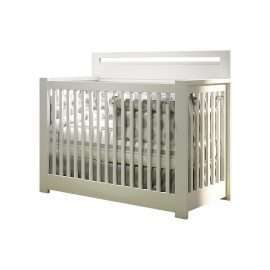 "Milano ""5-in-1"" Convertible Crib in White"