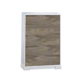 NE5535 Vibe 5 Drawer Dresser in White and Brown Bark