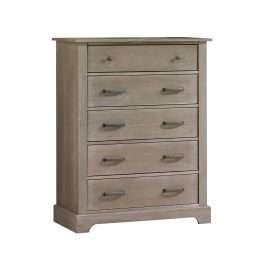 Emerson 5 Drawer Dresser in Sugarcane